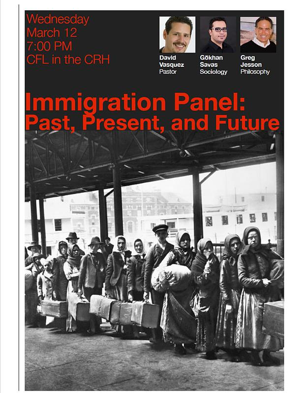Immigration Panel: Past, Present, and the Future