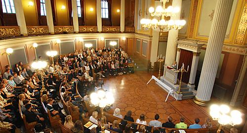 University of Oslo's gamle festsal