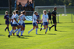 "Lauren Hughes Congratulated on Goal<a href=""/reason/images/570047_orig.jpg"" title=""High res"">∝</a>"