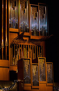 Rost Memorial Organ located in the Center for Faith and Life.