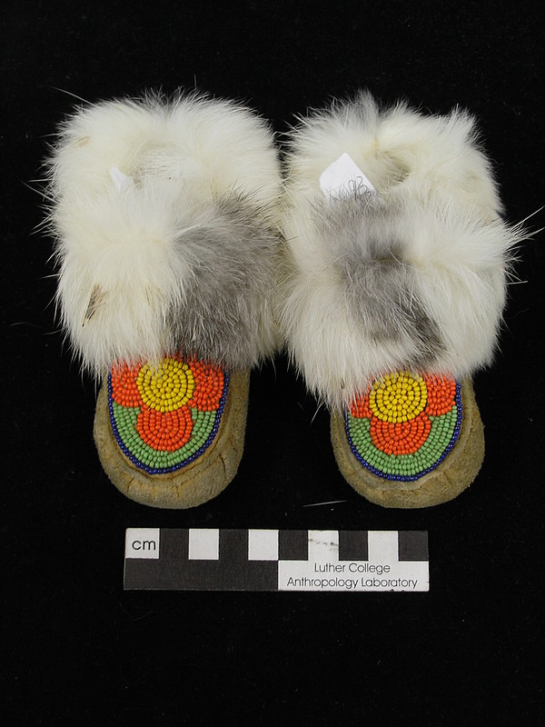 Inuit Baby Moccasins, E2006.26
