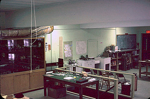 Luther College Archaeology Research Center, c. 1970s, image courtesy of the Mallam Slide Collection