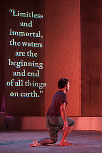 Body of Water performance with quote