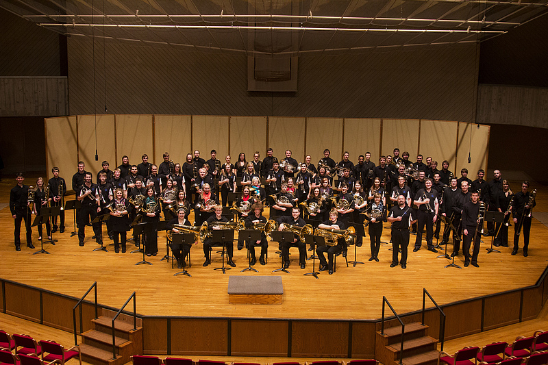 Luther College Brass Ensembles Fall 2014 concert