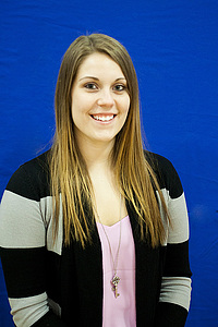 Luther student Holly Williams, '15