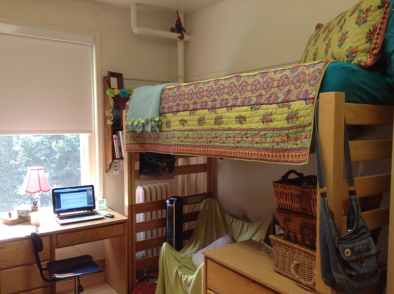 My humble abode in Larsen Hall