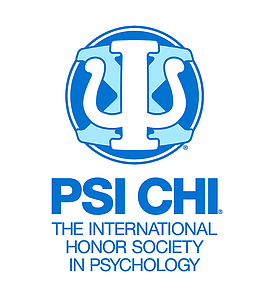 Psi Chi International Honor Society Logo.