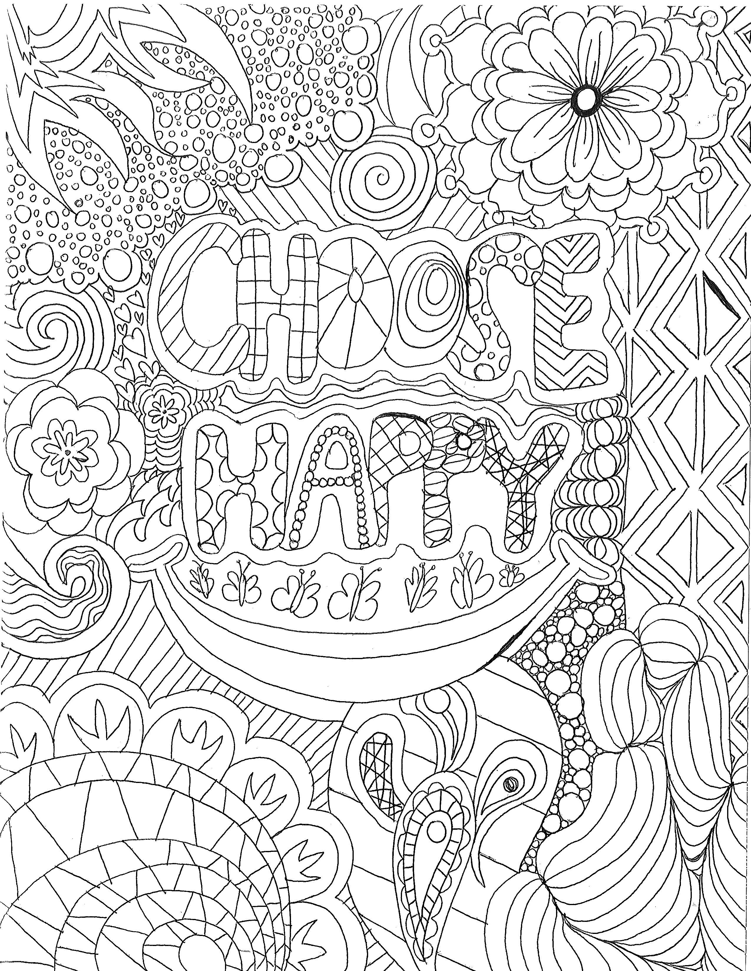 Coloring Pages | Counseling Service | Luther College