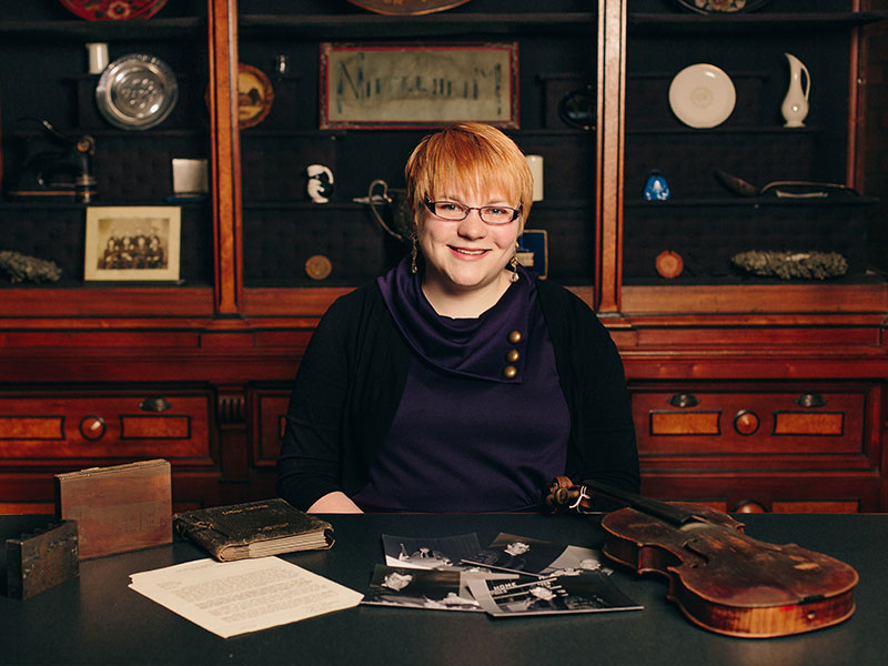 Hayley Jackson, Luther archivist