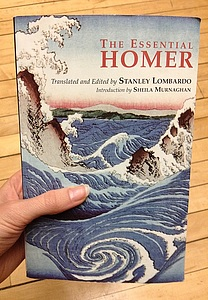 This is the book my class is working on right now; it includes parts of the Iliad and the Odyssey.