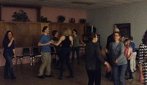 Salsa dancing in Decorah