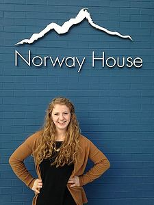 Alexis Hove '18 completed an internship at Norway House in Minneapolis, MN.