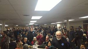 A view at the Iowa Caucus