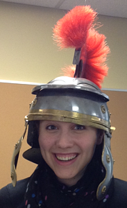 Oh yes. I am ten times fancier in a Roman helmet replica.