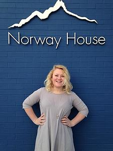 Hannah Tulgren at Norway House in Minneapolis, MN