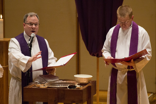 Ash Wednesday Ecumenical Service