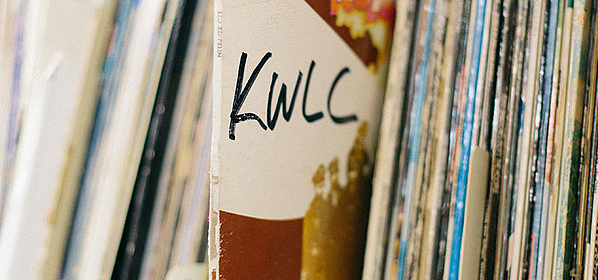 Just one of the many KWLC records.