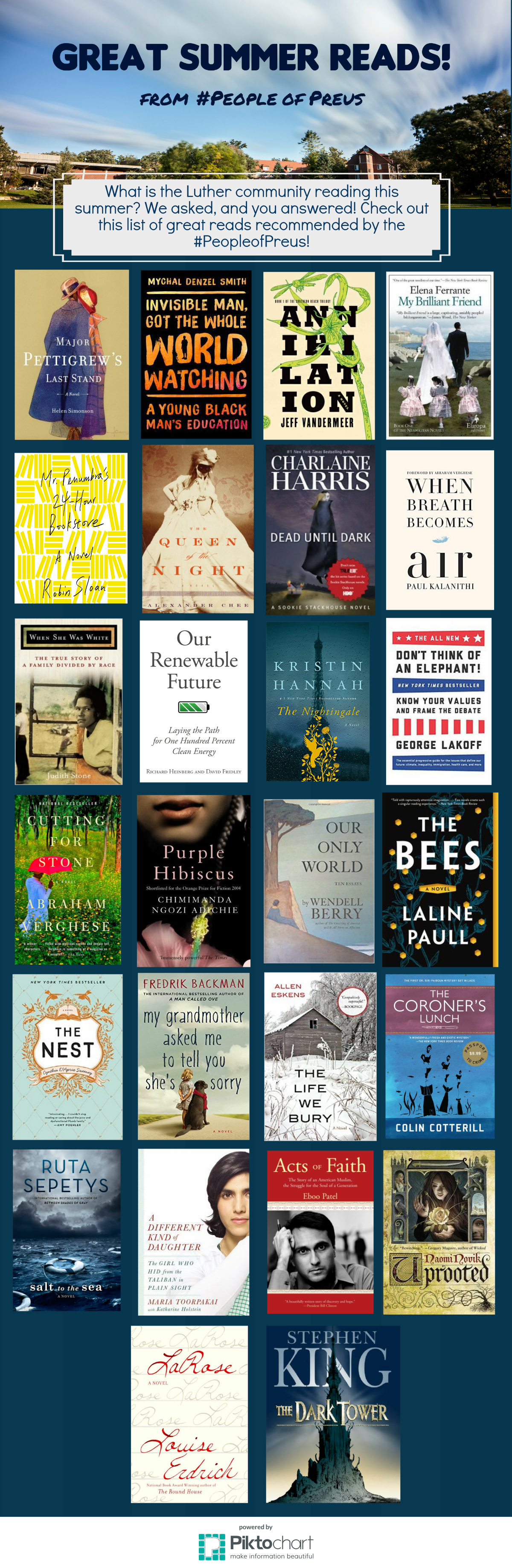 Great Summer Reads 2016