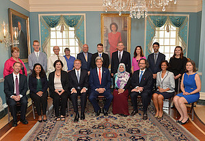 2016 Franklin Fellows with Secretary of State, John Kerry