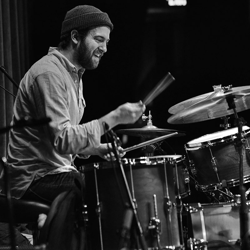 Lars-Erik Larson '10 and his Twin Cities–based jazz quartet Mancrush released their debut album, Authentic Midwestern, last March.