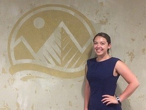 Meghan Barker spent her summer interning with The Wilderness Society in Washington, D.C., learning about environmental policies.
