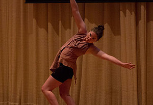 Still of Taylor Berg '16 performing