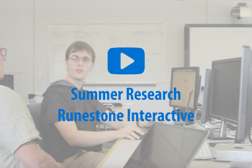 Runestone Interactive video call-to-action.