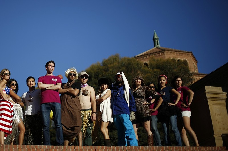 Eclectic college students. Photo by Lucy Nicholson / Reuters