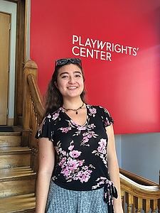 Luther student Jane Peña completed an internship with the Playwrights' Center in Minneapolis during summer 2016.