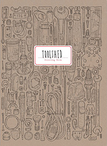 Toolshed coloring book & toolshed journal
