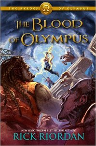 The heroes of Olympus: Book five: The blood of Olympus