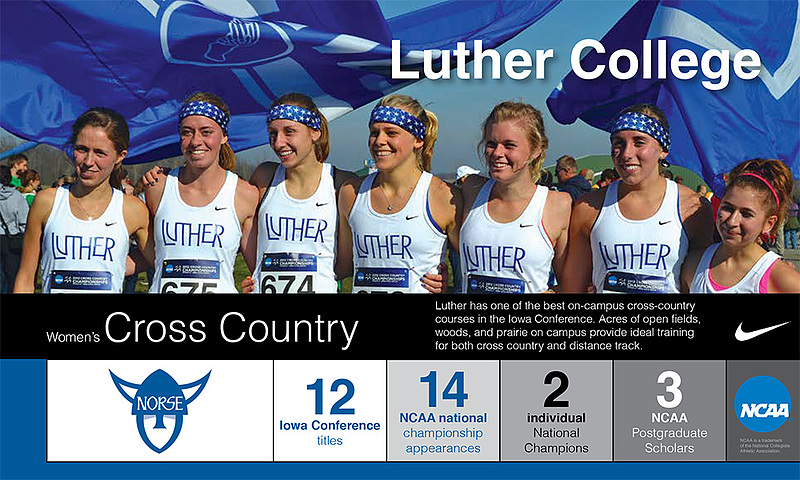 Women's Cross Country Program Snapshot 2016-17