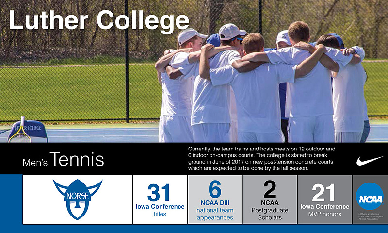 Program Snapshot Mens Tennis 2016-17