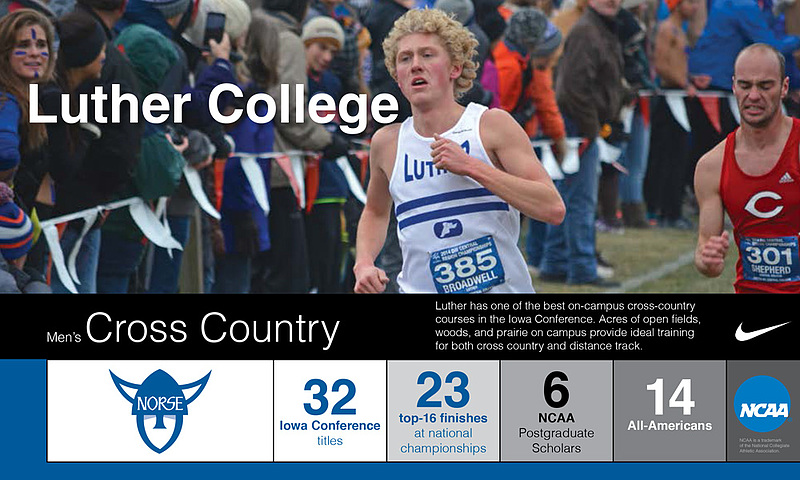 Program Snapshot Mens Cross Country 2016-17
