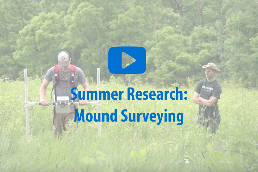 Play Summer Research: Mound Surveying video.
