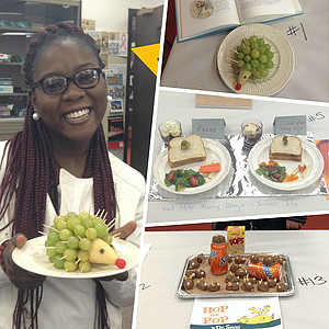 Edible Books contest winners