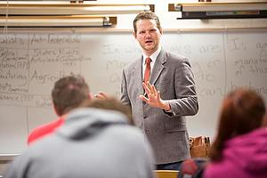 History alumnus Dr. Tesdahl currently teaches at the University of Wisconsin-Platteville.