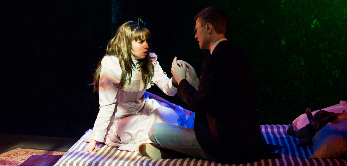 "Two Luther students perform in ""The Nether"""