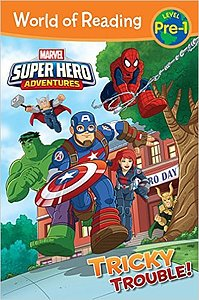 "Cover of ""Marvel Superhero Adventures"""