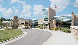 Winneshiek Medical Center -- where I was admitted last fall. A hospital that's hospitable.