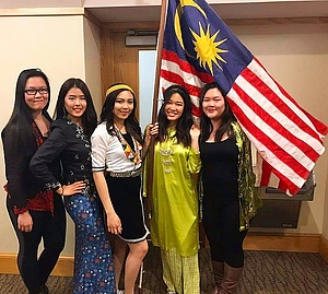 The Culture Show evening. Malaysians from the West Coast and East Coast!