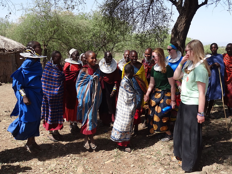 Learning to dance with the Maasai