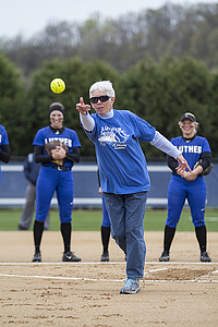 "Betty Hoff Ceremonial First Pitch<a href=""/reason/images/756977_orig.jpg"" title=""High res"">∝</a>"