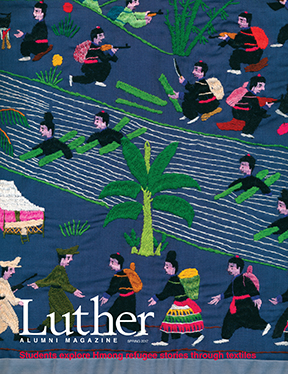 Luther College Alumni Magazine Spring 2017 cover