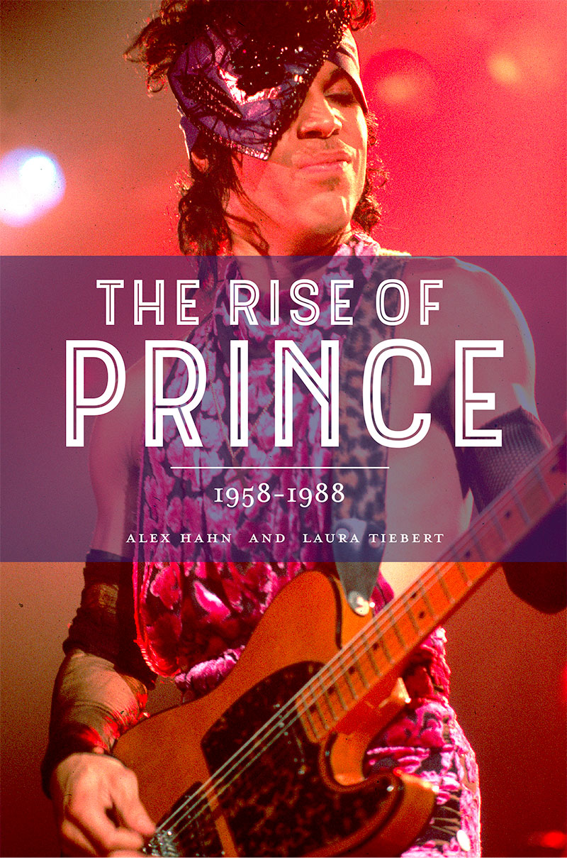 Tiebert's biography of Prince was released earlier this year.