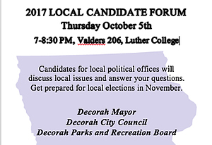 Candidate forum teaser