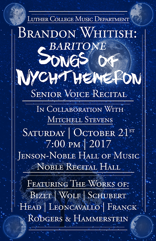 "Brandon Whitish ""Songs of Nychthemeron"""