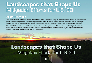 Landscapes That Shape Us
