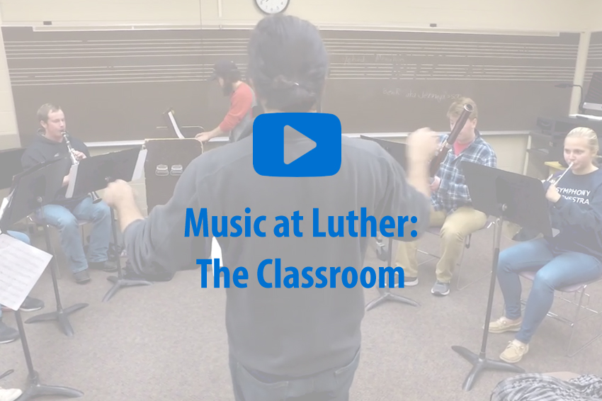 Learn about the music curriculum that every music major experiences while at Luther College.