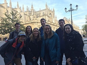A visit to the cathedral at Sevilla